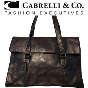 CABRELLI & Co. briefcase/laptop bag